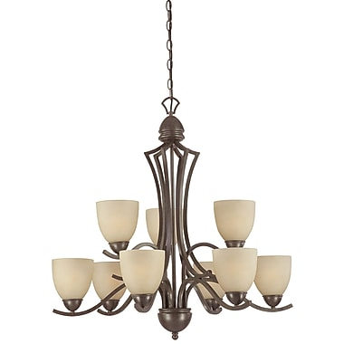 Thomas Lighting Triton 9-Light Shaded Chandelier