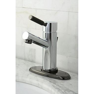 Kingston Brass Water Onyx Single Handle Centerset Bathroom Faucet w/ Brass Pop-Up