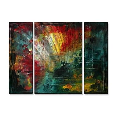 All My Walls 'Erupting Beauty' by Megan Duncanson 3 Piece Graphic Art Plaque Set