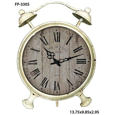 Cheungs Round Table Clock