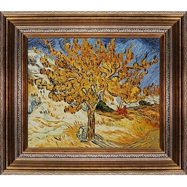 Tori Home The Mulberry Tree by Vincent Van Gogh Framed Painting Print