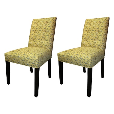 Sole Designs Kacey Side Chairs (Set of 2); Dijon
