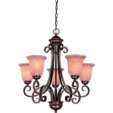 Dolan Designs Medici 5-Light Shaded Chandelier