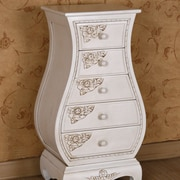 International Caravan Windsor 5 Drawer Bombay Chest
