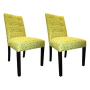 Sole Designs Kacey Side Chairs (Set of 2); Wassabi
