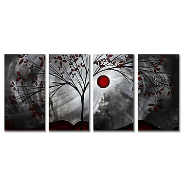 All My Walls 'Classic Beauty' by Megan Duncanson 4 Piece Painting Print Plaque Set