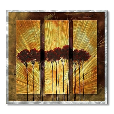 All My Walls 'Shrouded in Mystery' by Megan Duncanson 3 Piece Graphic Art Plaque Set
