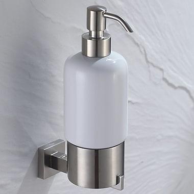 Kraus Aura Soap Dispenser; Chrome