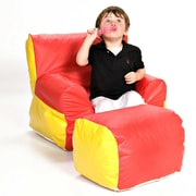 Foamnasium Soft-E Kids Club Chair and Ottoman