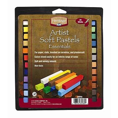 Alvin and Co. Artist Soft Pastels Set (Set of 24)