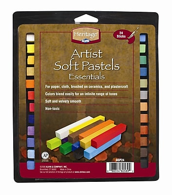 Alvin and Co. Artist Soft Pastels Set (Set of 24)