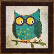 Propac Images Owls 1 / 2 / 3 / 4 4 Piece Framed Graphic Art Set