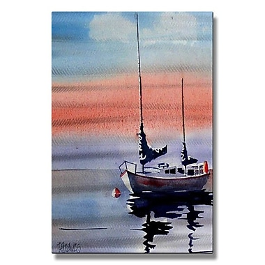 All My Walls 'Sailing' by Richard Graves Painting Print Plaque