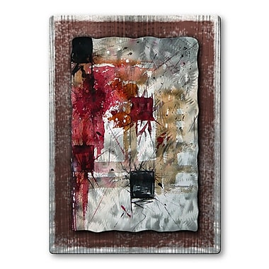All My Walls 'Squares' by Pol Ledent Painting Print Plaque