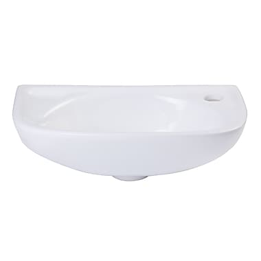 Alfi Brand Small 16'' Wall mount Bathroom Sink