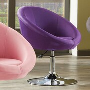 Standard Furniture YoCo Adjustable Height Bar Stool; Purple