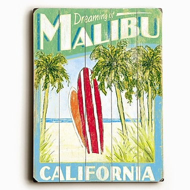 Artehouse LLC Surfboards Vintage Advertisement Plaque