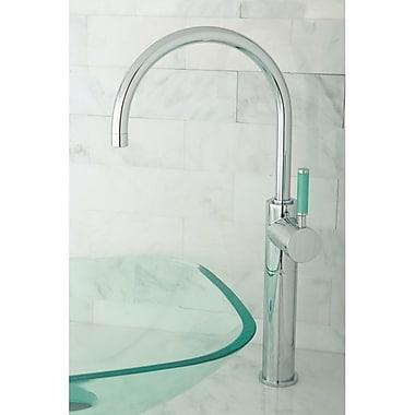 Kingston Brass Green Eden Single Handle Vessel Sink Faucet; Polished Chrome