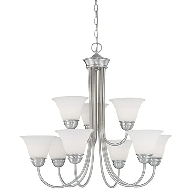 Thomas Lighting Bella 9-Light Shaded Chandelier