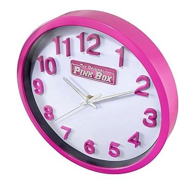 The Original Pink Box Pink Wall Clock