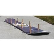 Ski Chair Snow Board Coat Rack w/ Wooden Peg