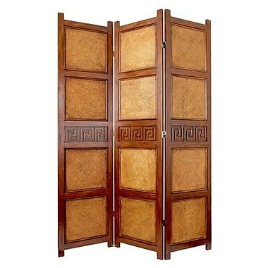 Oriental Furniture 72'' x 54'' Peiking 3 Panel Room Divider