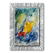 All My Walls 'Sailing Boat' by Pol Ledent Painting Print Plaque