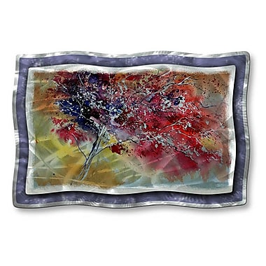 All My Walls 'Colors of The Tree' by Pol Ledent Painting Print Plaque