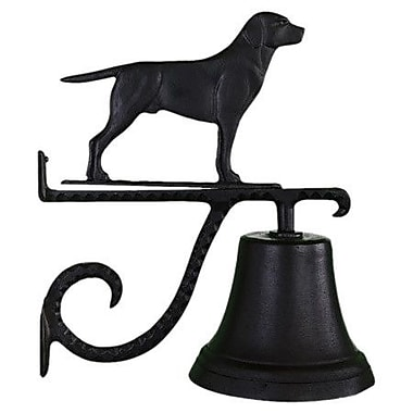 Montague Metal Products Cast Lab Bell; Black