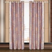 Dolce Mela Dolce Mela Ceres Damask Blackout Thermal  Grommet Single Curtain Panel