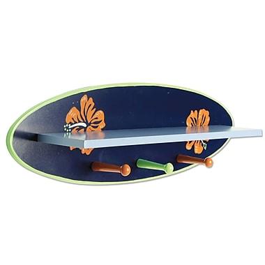Trend Lab Surf's Up Shelf w/ Pegs