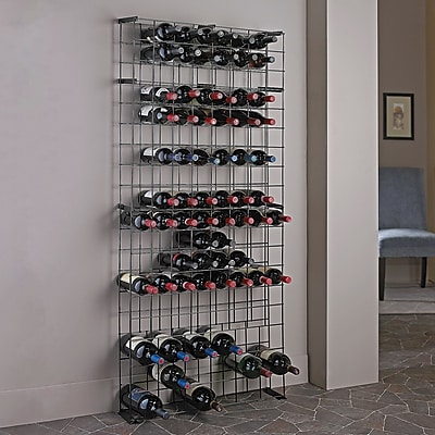 Wine Enthusiast Companies 138 Bottle Floor Wine Rack