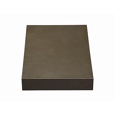 DecoLav Cameron Quartz 15'' Single Bathroom Vanity Top; Grey