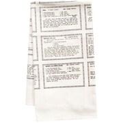 Artgoodies Organic Retro Recipes Entr e Tea Towel