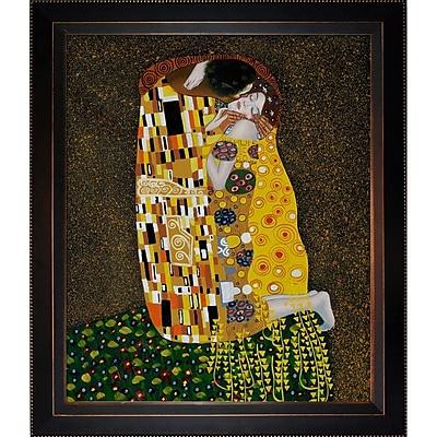 Tori Home The Kiss by Gustav Klimt Framed Painting