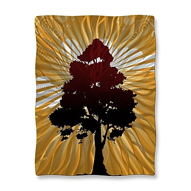 All My Walls 'Tree Shadow' by Ash Carl Graphic Art Plaque