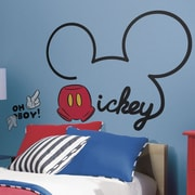 Room Mates Mickey and Friends All About Mickey Giant Wall Decal