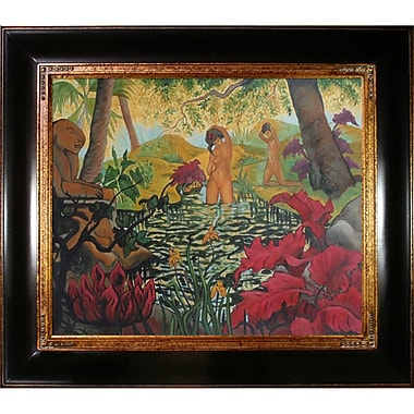 Tori Home The Bathing Place or Lotus by Paul-Elie Ranson Framed Painting