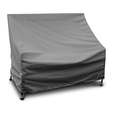 KoverRoos Weathermax 3-Seat Glider / Lounge Cover; Grey