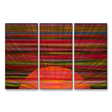 All My Walls 'Just Another Star' by Jerry Clovis 3 Piece Graphic Art Plaque Set