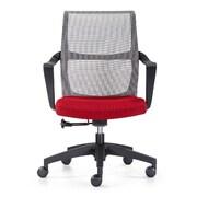 Woodstock Marketing Ravi Mesh Desk Chair; Red