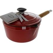 Chasseur 2.5 qt. Saucepan w/ Lid; Red