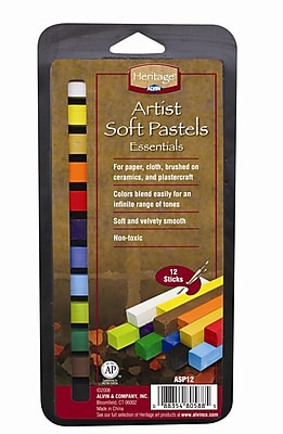 Alvin and Co. Artist Soft Pastels Set (Set of 12) WYF078276489019