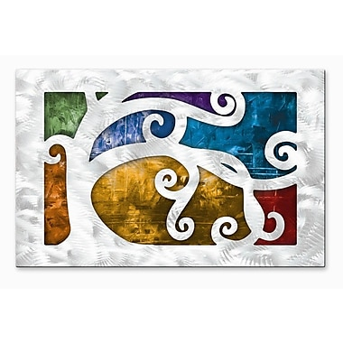 All My Walls 'Standing Out' by Megan Duncanson Graphic Art Plaque