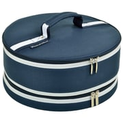 Picnic At Ascot Bold Cake Carrier; Blue