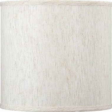 Volume Lighting 10'' Linen Drum Wall Sconce Shade