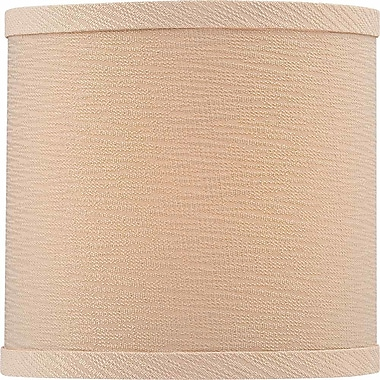 Volume Lighting 6'' Linen Drum Wall Sconce Shade