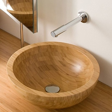 WS Bath Collections Linea Acquaio Bathroom Sink; Single Hole