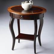 Butler Cherry Nouveau 1 Drawer Oval End Table