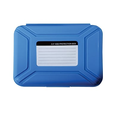 Vision 35HDS-BL Hard Drive Carrying Case, Blue